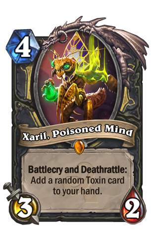 Xaril Poisoned Mind